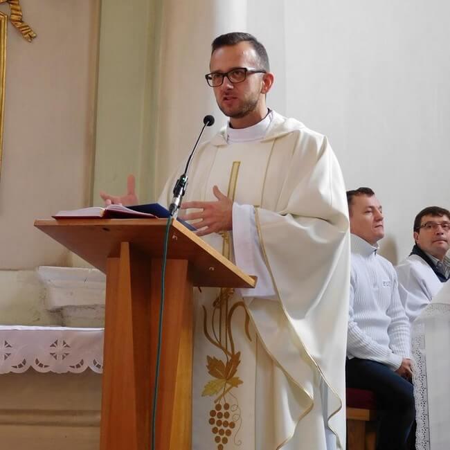Homilię wygłosi ks. Hubert Wiśniewski