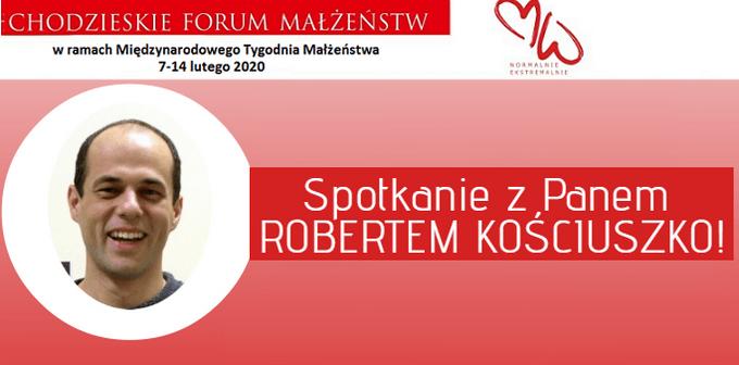 Spotkanie z Robertem Kościuszko